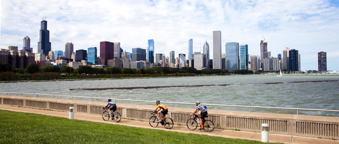 Ride for Life Chicago - skyline riders